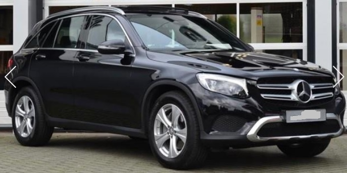 lhd MERCEDES  (08/2015) - BLACK METALLIC - lieu:
