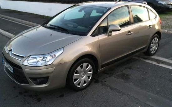 Left hand drive CITROEN C4 1.6 HDI 92 FRENCH REG