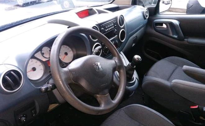 CITROEN BERLINGO (09/2012) - BLUE - lieu: