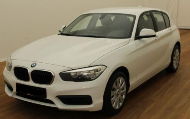 Lhd BMW 1 SERIES (04/2015) - WHITE - lieu: