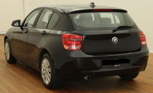 BMW 1 SERIES (03/2015) - BLACK - lieu: