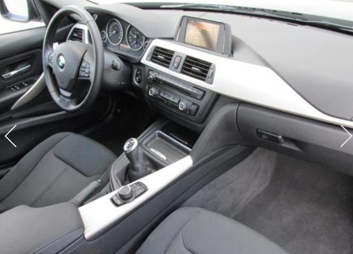 BMW 3 SERIES (02/2015) - BLACK - lieu: