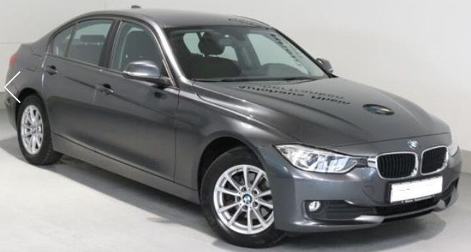 lhd BMW 3 SERIES (04/2015) - GREY METALLIC - lieu: