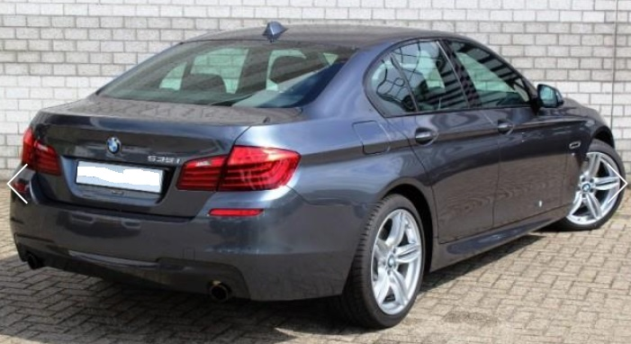 BMW 5 SERIES (06/2015) - GREY METALLIC - lieu: