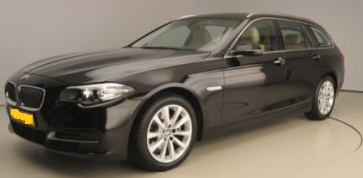 BMW 5 SERIES (08/2015) - BLACK METALLIC - lieu: