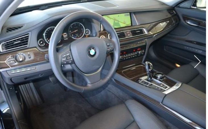 BMW 7 SERIES (04/2015) - BLACK METALLIC - lieu: