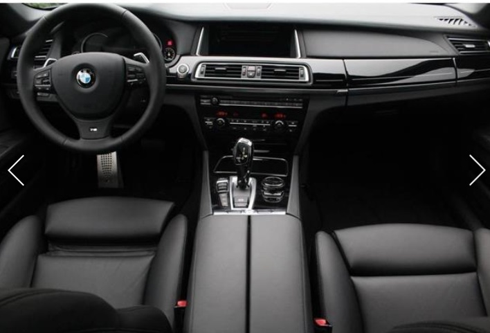 BMW 7 SERIES (11/2015) - BLACK METALLIC - lieu: