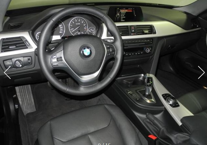 BMW 4 SERIES (06/2015) - BLACK METALLIC - lieu: