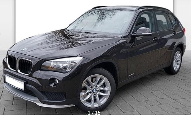 BMW X1 (01/2015) - BROWN METALLIC - lieu: