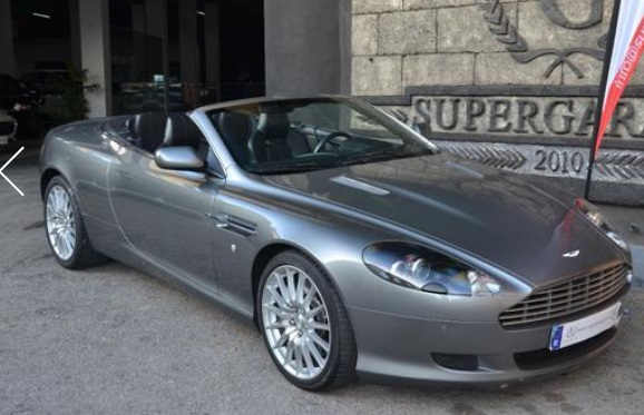 ASTON MARTIN DB9 VOLANTE TOUCHTRONIC2 SPANISH REGISTERED