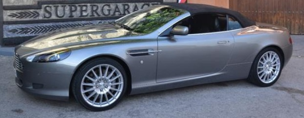 ASTON MARTIN DB9 (07/2007) - GREY METALLIC - lieu: