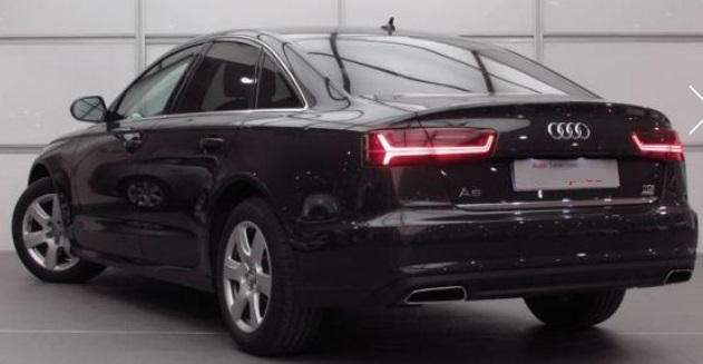 Lhd AUDI A6 (05/2015) - GREY METALLIC - lieu: