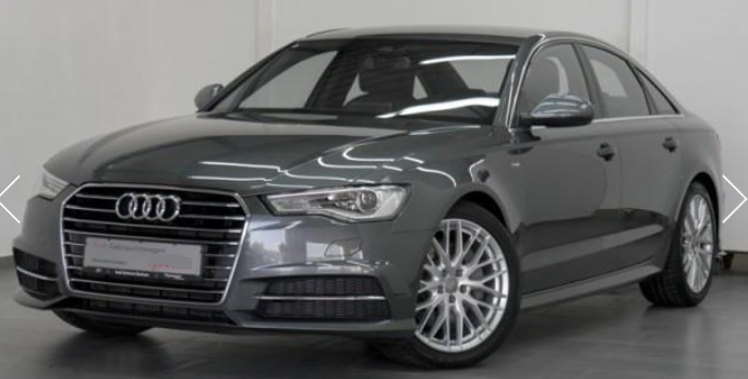 lhd AUDI A6 (03/2015) - GREY METALLIC - lieu: