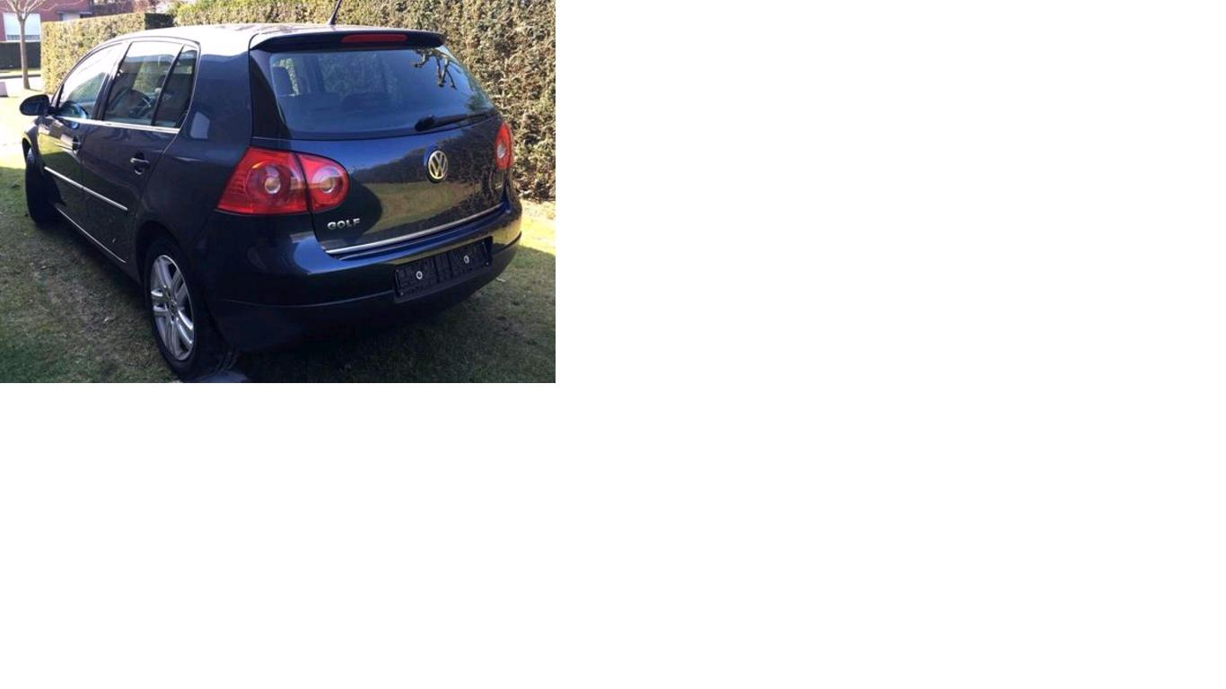 VOLKSWAGEN GOLF (10/2009) - BLUE - lieu: