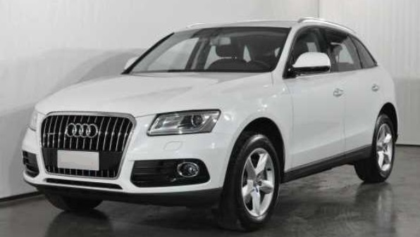 AUDI Q5 (02/2015) - WHITE METALLIC - lieu: