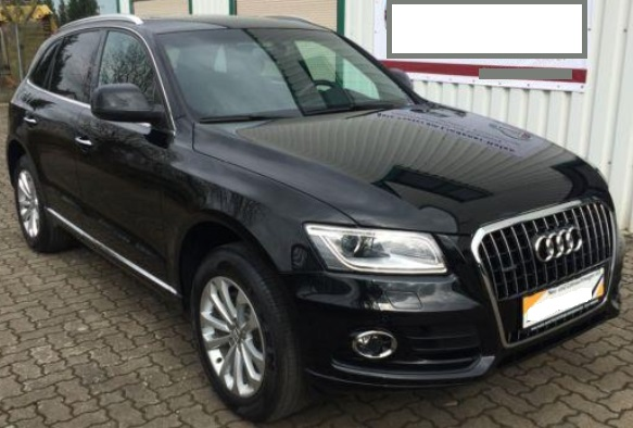 lhd AUDI Q5 (03/2015) - BLACK METALLIC - lieu:
