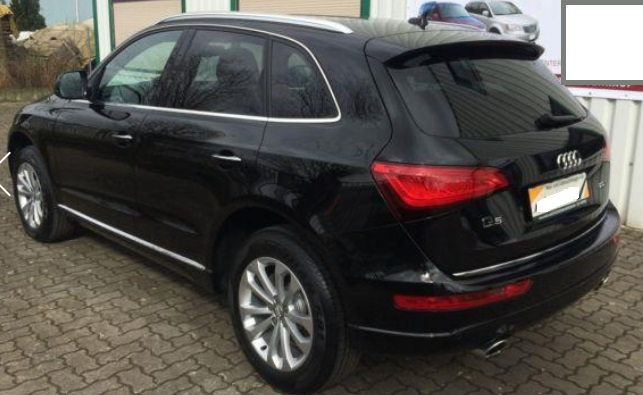AUDI Q5 (03/2015) - BLACK METALLIC - lieu: