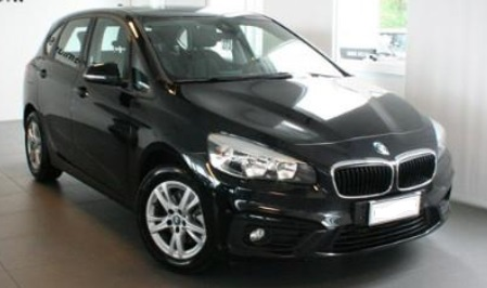 lhd BMW 2 SERIES (02/2015) - BLACK - lieu: