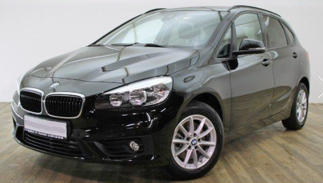 lhd BMW 2 SERIES (04/2015) - BLACK - lieu: