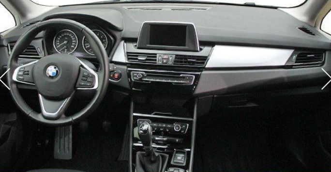 BMW 2 SERIES (04/2015) - BLACK - lieu:
