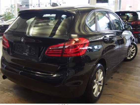 Lhd BMW 2 SERIES (01/2015) - BLACK METALLIC - lieu: