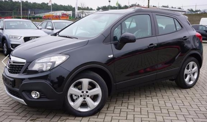 OPEL MOKKA (02/2015) - BLACK METALLIC - lieu: