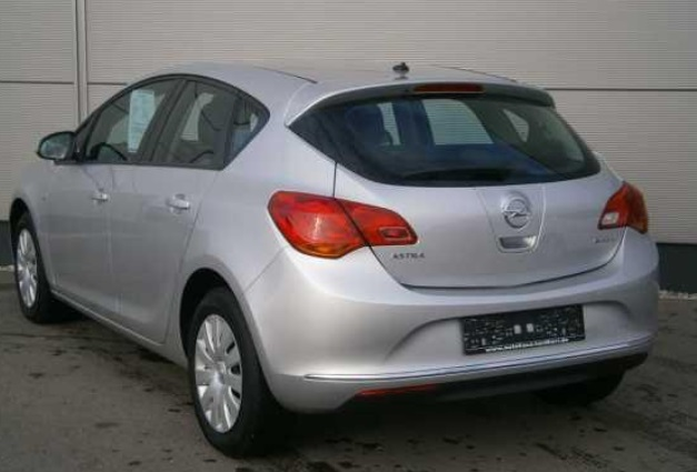 Left hand drive OPEL ASTRA Edition 5-tg