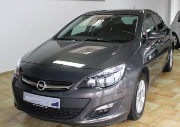 Left hand drive OPEL ASTRA 1.4 Turbo Style