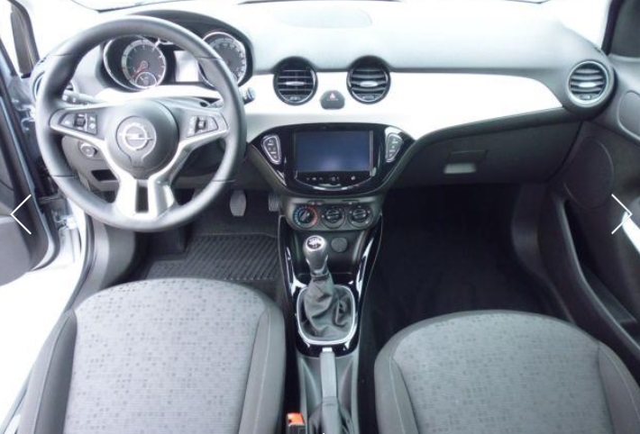 OPEL ADAM (02/2015) - GREY METALLIC - lieu: