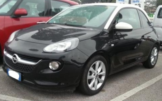 OPEL ADAM (02/2015) - BLACK - lieu: