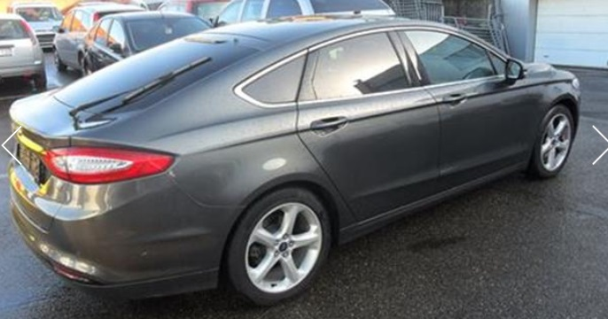 Left hand drive FORD MONDEO 1.5i