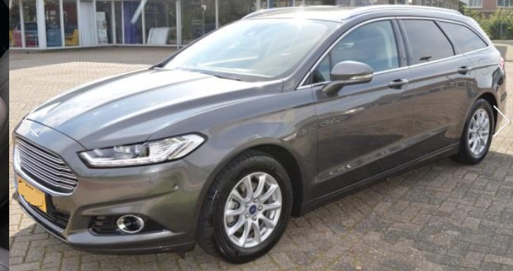 lhd FORD MONDEO (03/2015) - GREY METALLIC - lieu: