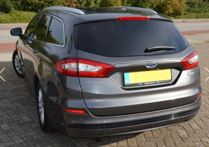 FORD MONDEO (03/2015) - GREY METALLIC - lieu: