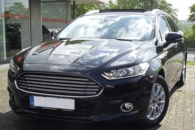 lhd FORD MONDEO (03/2015) - BLACK METALLIC - lieu: