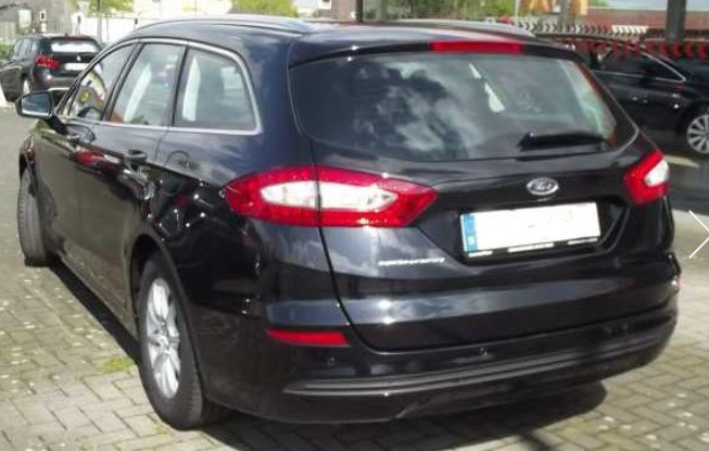 FORD MONDEO (03/2015) - BLACK METALLIC - lieu: