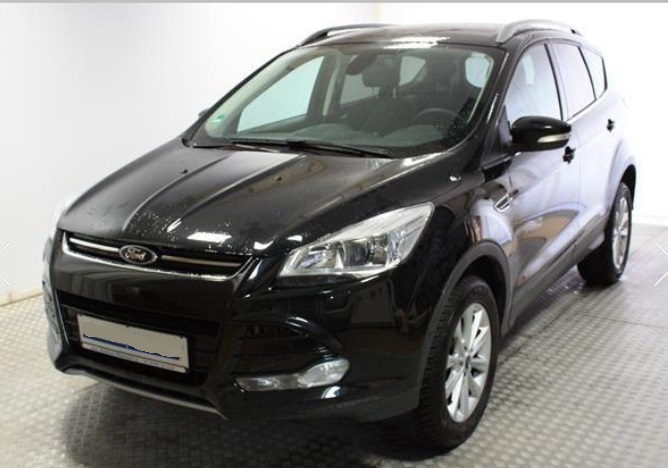 lhd FORD KUGA (04/2015) - BLACK METALLIC - lieu: