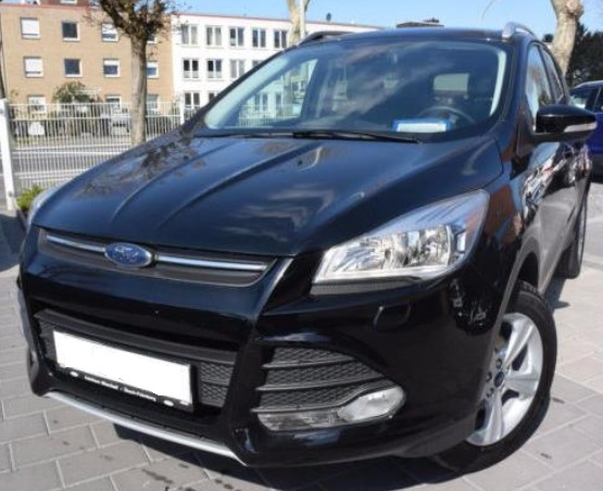 lhd FORD KUGA (11/2015) - BLACK METALLIC - lieu: