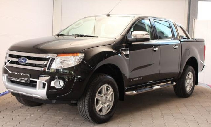 lhd FORD RANGER (11/2015) - BLACK METALLIC - lieu: