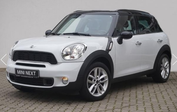 lhd MINI COUNTRYMAN (09/2011) - WHITE - lieu: