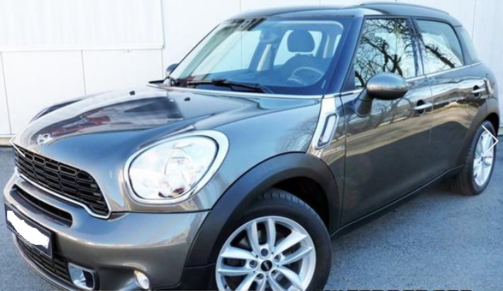 lhd MINI COUNTRYMAN (02/2013) - GREY METALLIC - lieu: