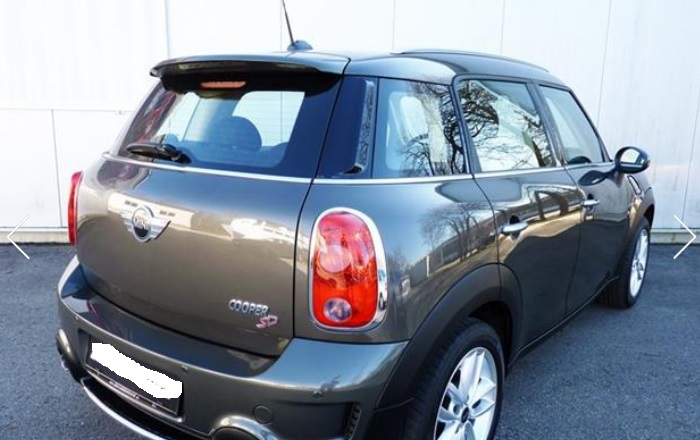 MINI COUNTRYMAN (02/2013) - GREY METALLIC - lieu: