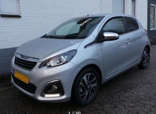 lhd PEUGEOT  (02/2015) - GREY METALLIC - lieu: