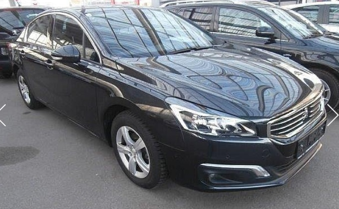 lhd PEUGEOT 508 (07/2015) - GREY METALLIC - lieu: