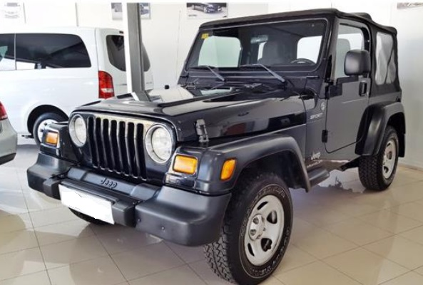 JEEP WRANGLER 2.4 SPORT SPANISH REGISTERED
