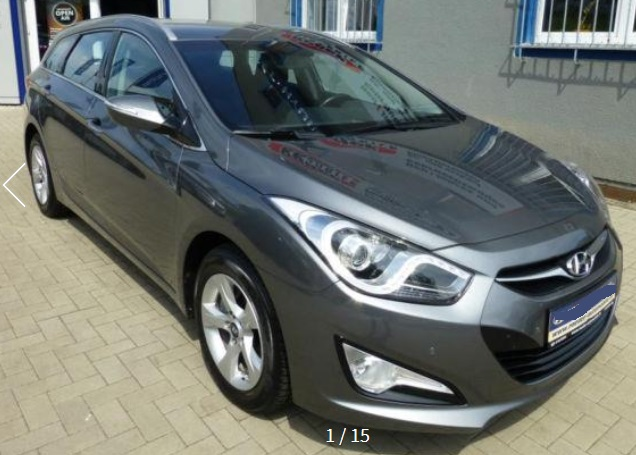 HYUNDAI i40 w 1.7 CRDi Fifa World Cup Edition