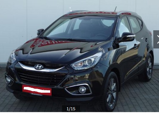 HYUNDAI IX 35 (01/2015) - BLACK METALLIC - lieu: