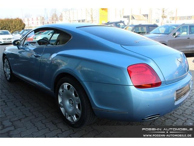 BENTLEY CONTINENTAL GT (09/2008) - BLUE - lieu: