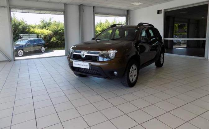 lhd DACIA DUSTER (09/2012) - BROWN - lieu: