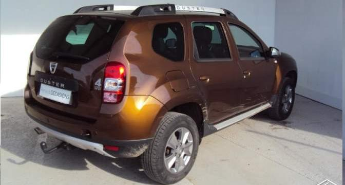 DACIA DUSTER (04/2014) - BROWN - lieu: