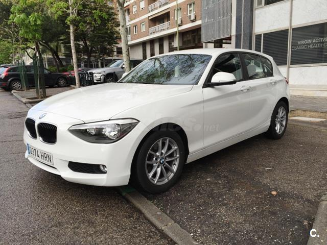 Left hand drive BMW 1 SERIES 116D EFFICIENT DYNAMIC AUTO SPANISH REG